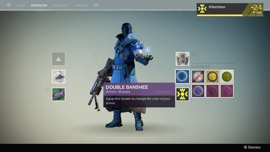 Destiny Double Banshee Shader