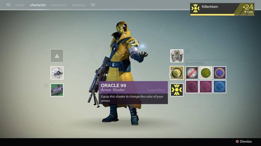 Destiny Orcale 99 Shader