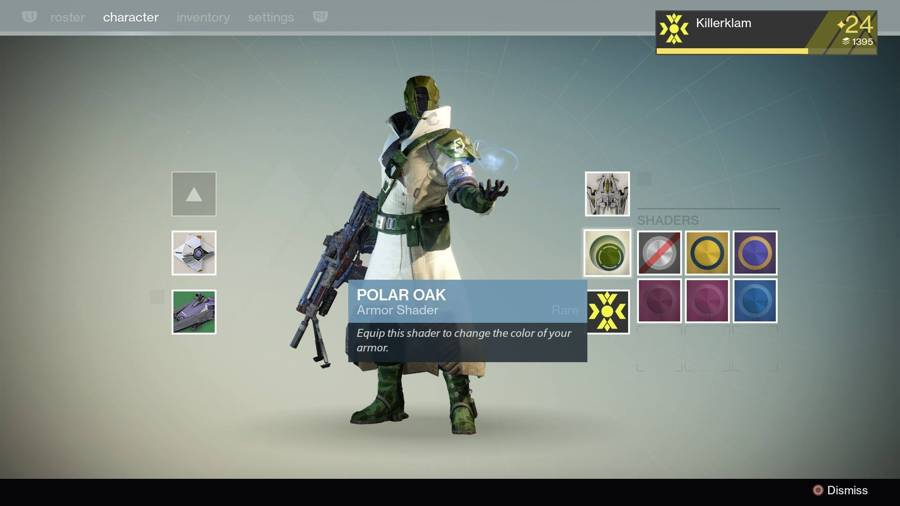 Destiny Polar Oak Shader