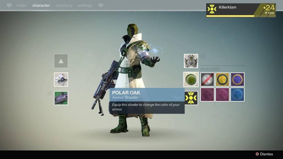 Destiny Polar Oak Shader