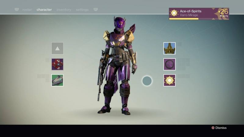 Destiny Shader RoseGold