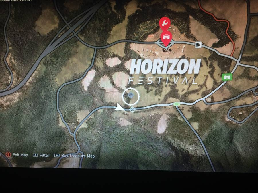 Forza Horizon 2 Barn Find Map 1