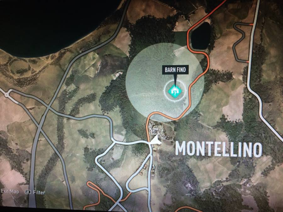 Forza Horizon 2 Barn Find Map 6