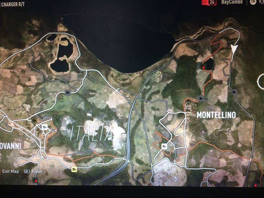 Forza Horizon 2 Speed Trap Map 1