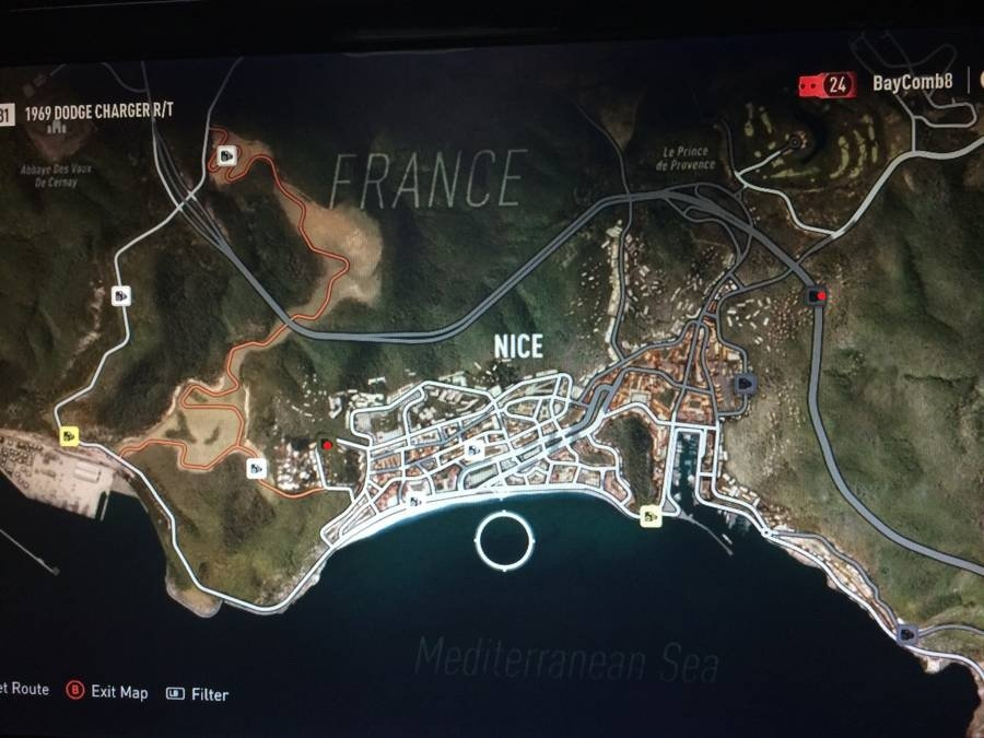 Forza Horizon 2 Speed Trap Map 3