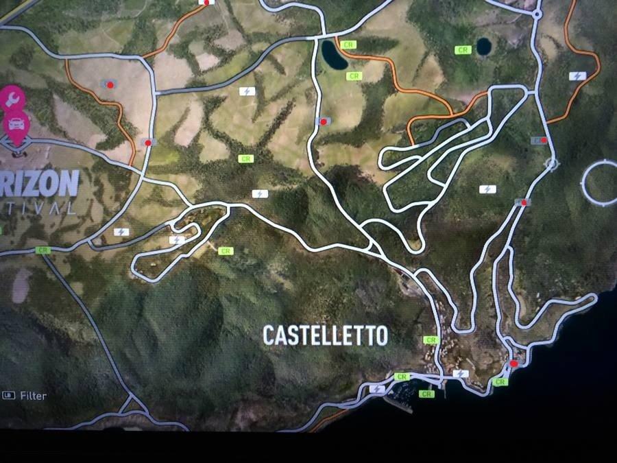 Forza Horizon 2 Treasure Map 8