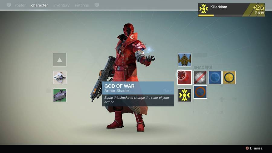 Destiny God Of War Shader