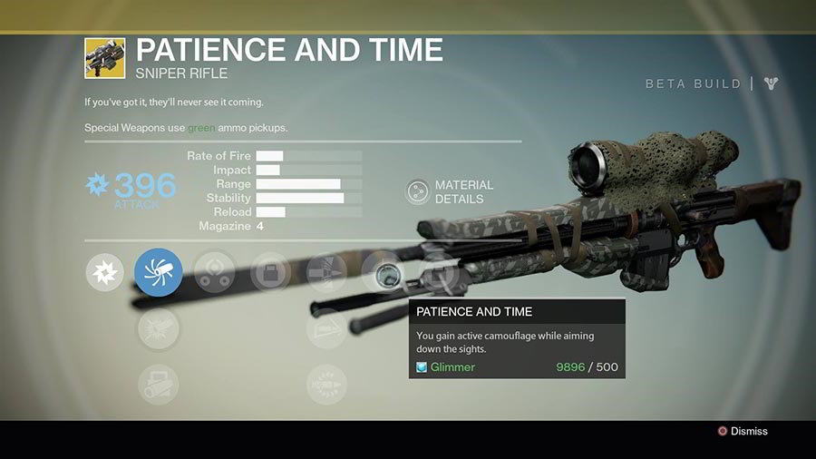 Top 5 Destiny Exotic Weapons #1 - Patience & Time