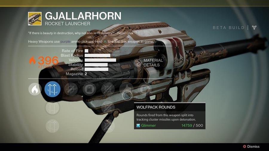 Top 5 Destiny Exotic Weapons #2 - Gjallarhorn