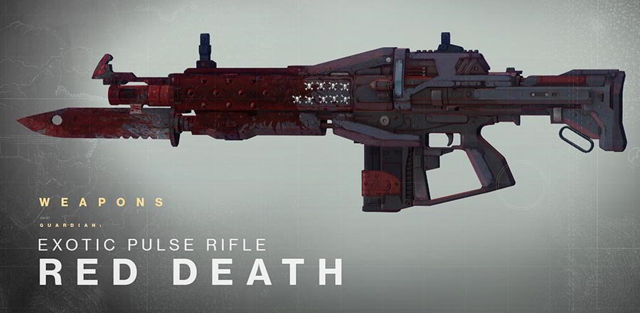 Top 5 Destiny Exotic Weapons #3 - Red Death