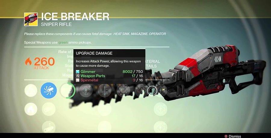 Top 5 Destiny Exotic Weapons #5 - Ice Breaker