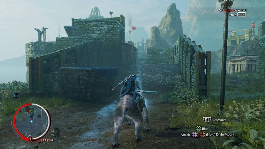 Shadow Of Mordor White Rider Stop