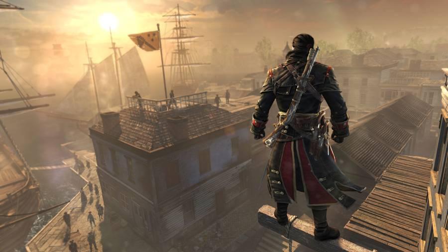 Assassin's Creed Rogue North Atlantic Blueprint