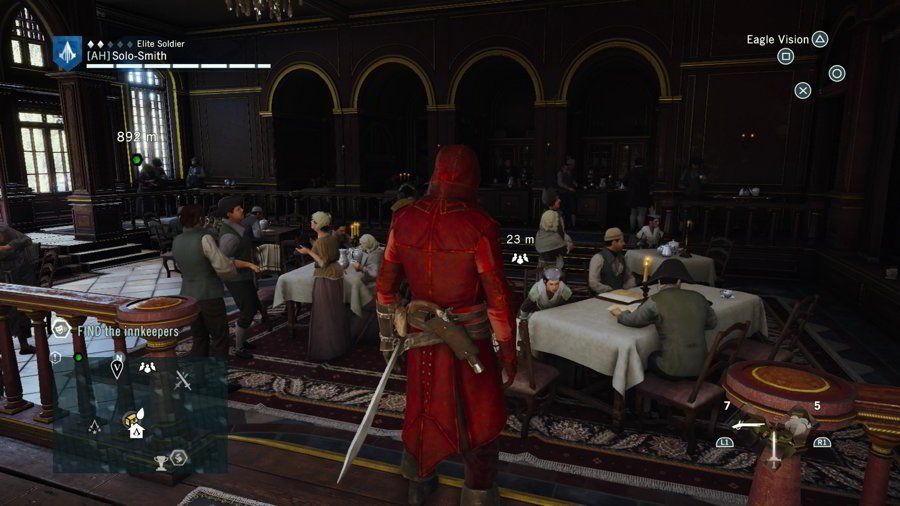 Assassin S Creed Unity Cafe Theatre Social Clubs Guide