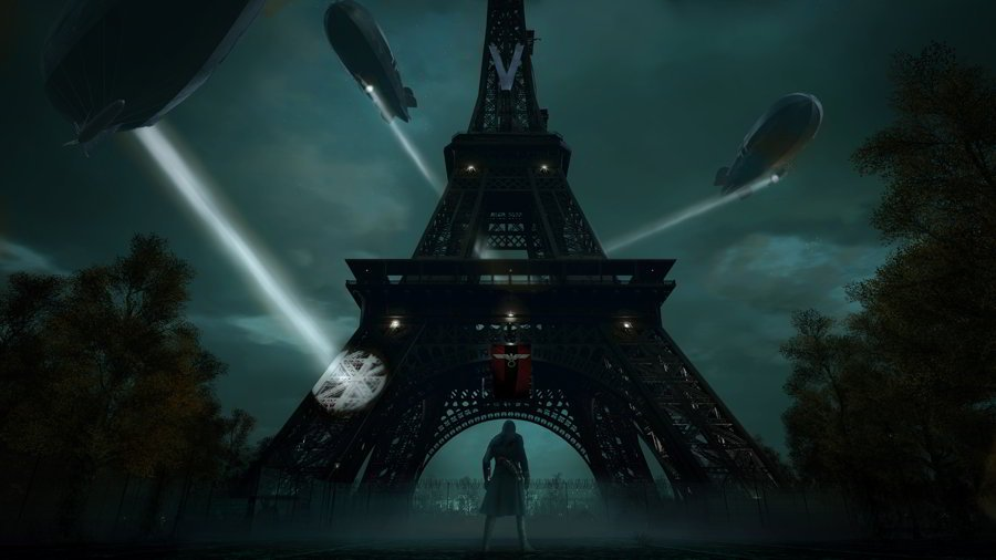 Assassin's Creed Unity Review - Eiffel Tower