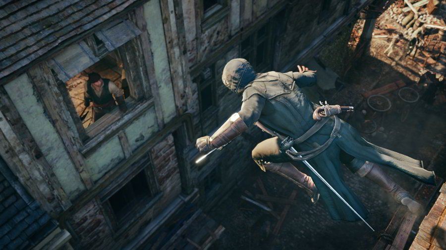 Assassin's Creed Unity Review - Window Assassination