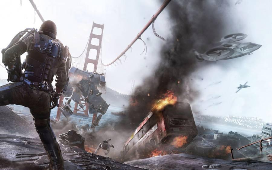 CoD Advanced Warfare Collapse Intel