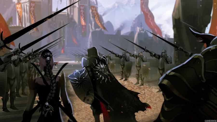 Dragon Age Inquisition Storm Coast Dragon Vinsomer