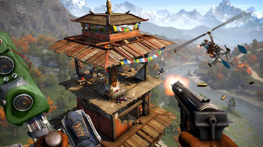 Far Cry 4 Outpost Guide - Quests, Items & Collectibles