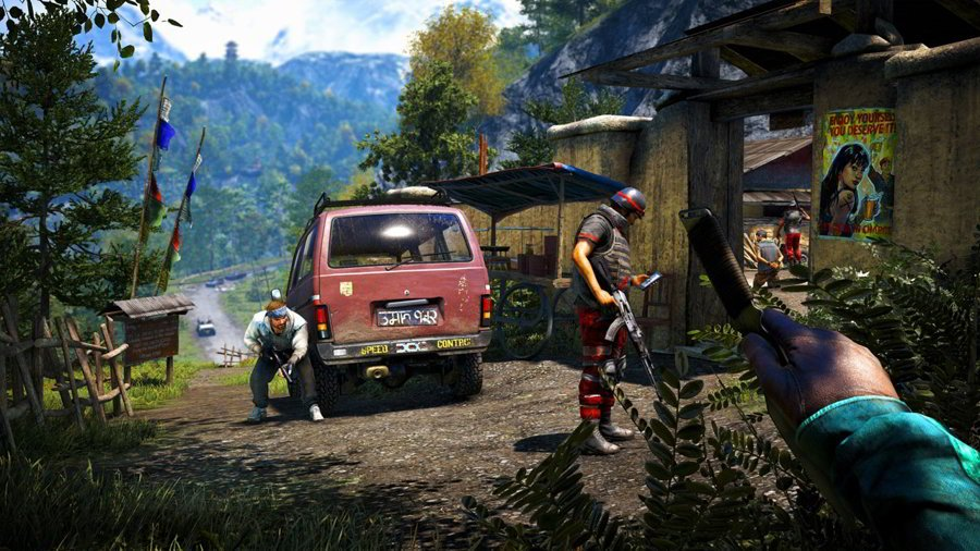 Far Cry 4 Review Co-Op