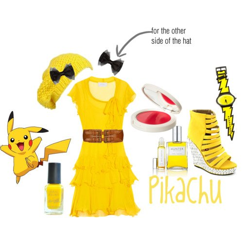 Casual Pokemon Cosplay Polyvore - Gamers Heroes (1)