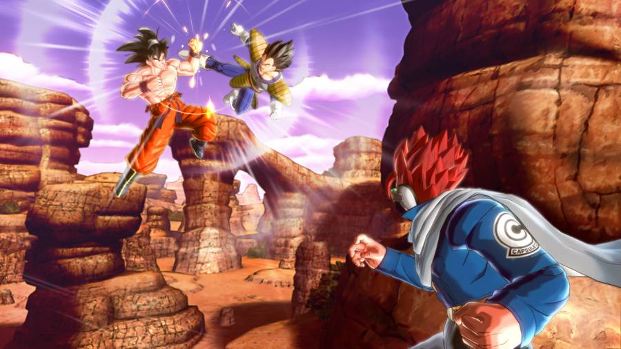 Dragon Ball Xenoverse Saiyan Pride