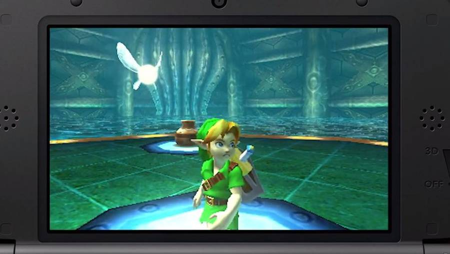 The Legend Of Zelda Majora's Mask 3D: Finding The Great Fairy In Clock town