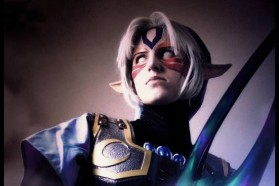 Cosplay Wednesday – Majora's Mask's Fierce Deity Link