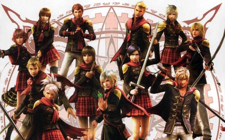 Final Fantasty Type-0 Task List