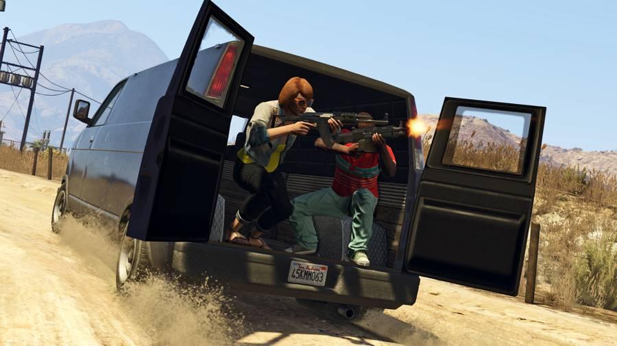 GTA Online The Fleeca Job