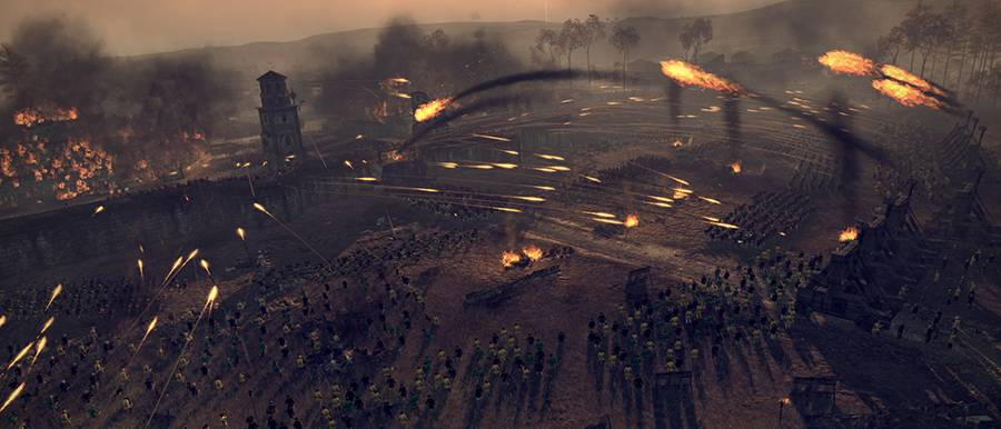 Total War Attila Battle
