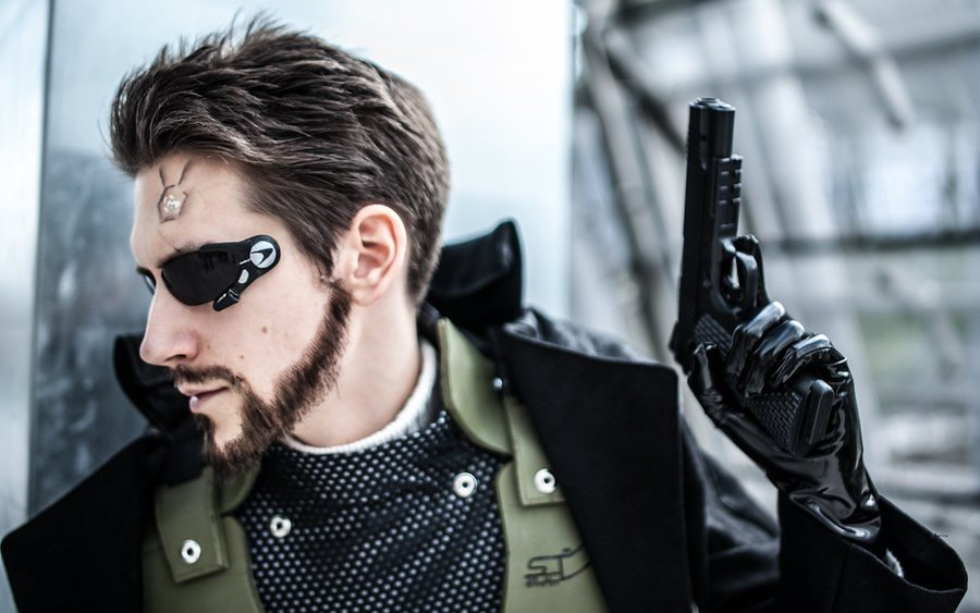 Adam Jensen Cosplay - Gamers Heroes