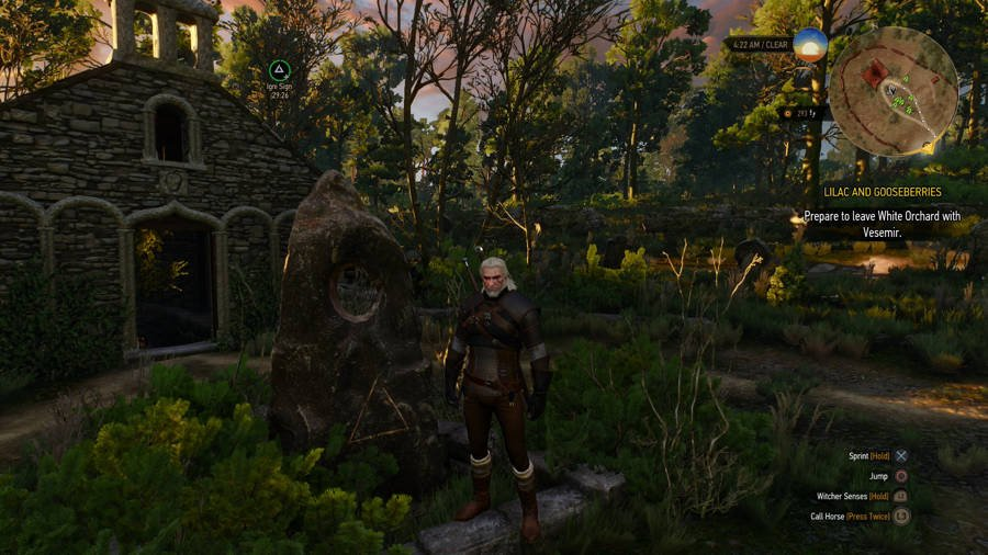 The Witcher 3 Wild Hunt Guide Place Of Power Guide -White Orchard