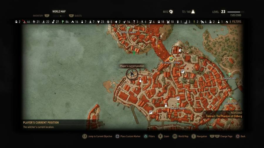Where To Sell Monster Trohpies In The Witcher 3 Novigrad
