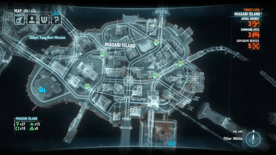 Batman Arkham Knight Campaign For Disarmament Miagani Map