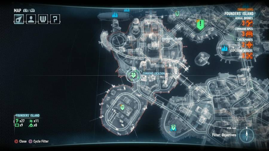 batman arkham knight heir to the cowl locations