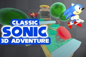 Mario Meets Sonic in Classic Sonic 3D Adventure