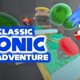 Mario Meets Sonic in Classic Sonic 3D Adventure