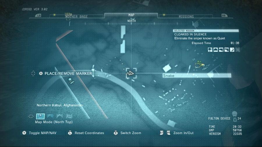 Metal Gear Solid 5 Quiet Boss Battle Sniper Spot