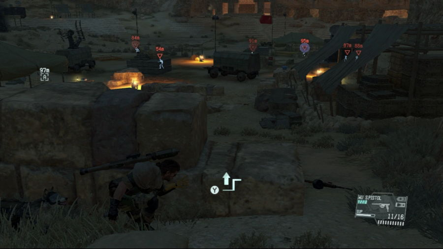 Metal Gear Solid 5 Soldier 3 Hiding Spot