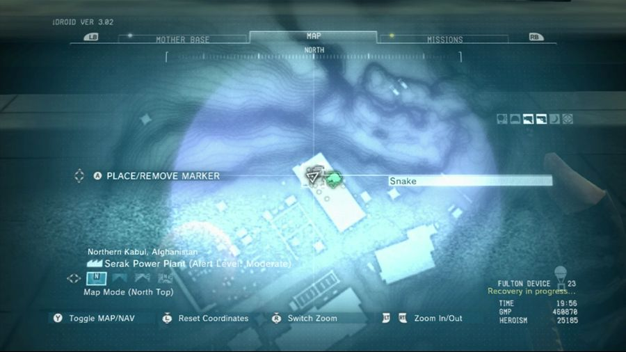 Metal Gear Solid 5 Stun Arm Blueprint Location