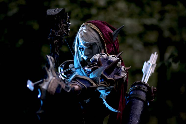 World of Warcraft Sylvanas Windrunner - Gamers Heroes