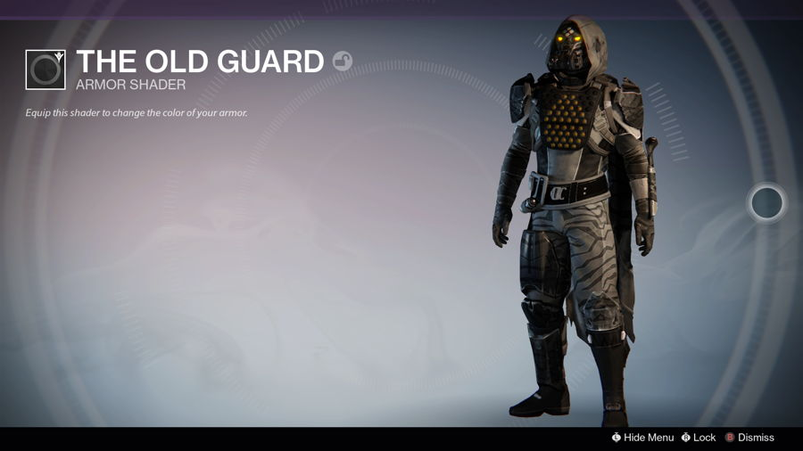Destiny VIP Reward Shader