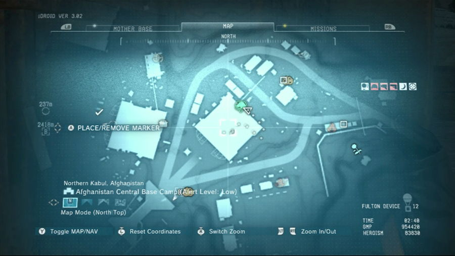 Metal Gear Solid 5 Extract The AI Pod