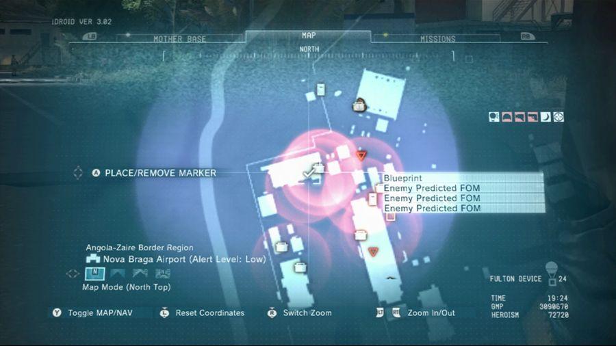 Metal Gear Solid 5 Gun-Cam Defender Blueprint