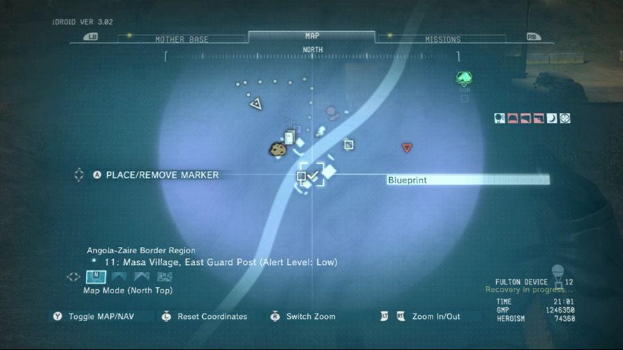 Metal Gear Solid 5 The Antitheft Device Blueprint