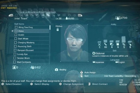 How To Get Hideo Kojima For Mother Base In Metal Gear Solid 5