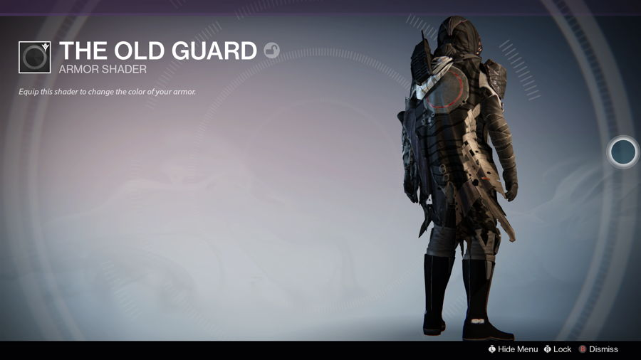 The Old Guard destiny Shader