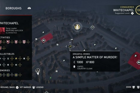 Assassin's Creed Syndicate Guide: The Dreadful Crimes Guide