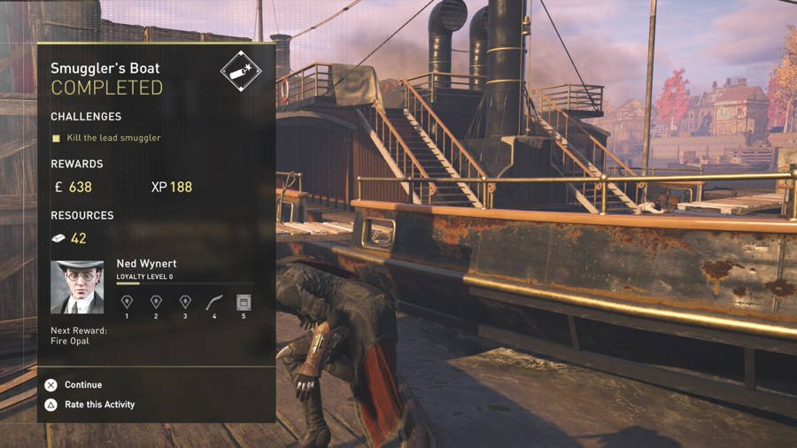 Assassin's Creed Syndicate Loyalty Guide - Ned Wynert